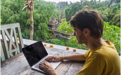 Trabajar desde casa en el mundo digital